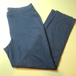 Chico's sz3 navy dress pants with great stretch